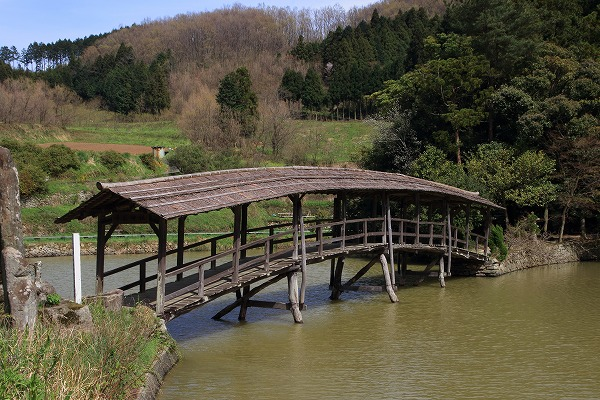 内子・弓削神社橋 150408 005