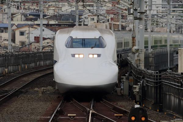 京都駅新幹線700系 150504 01