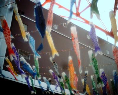 泳ぐ東京タワーの鯉のぼり:Entry