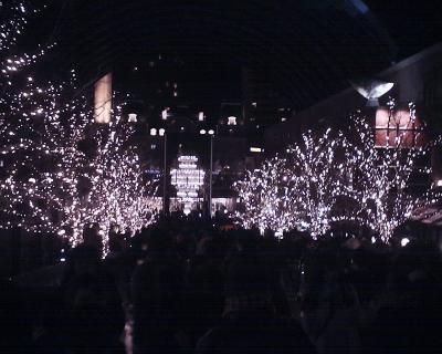 恵比寿ガーデンプレイス・バカラキャンドル2014:R2