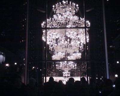 恵比寿ガーデンプレイス・バカラシャンデリア2014:R2