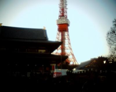 増上寺と東京タワー2015:Entry