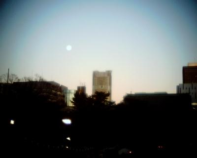 増上寺で新年の十三夜:Entry