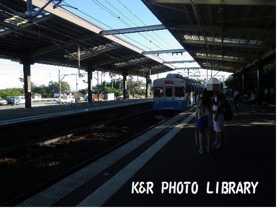 8月17日伊豆高原駅2