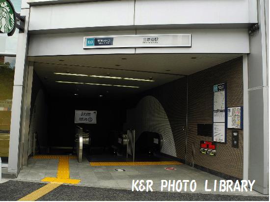 8月30日北参道駅