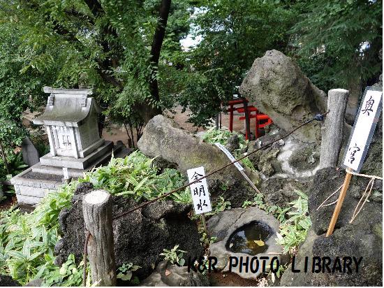 8月30日千駄ヶ谷の富士塚3