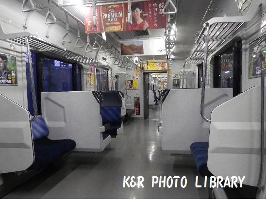 9月21日横須賀線車内