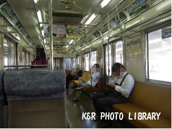 9月21日伊東線車内