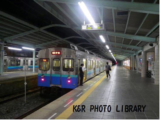 9月21日伊豆急下田駅