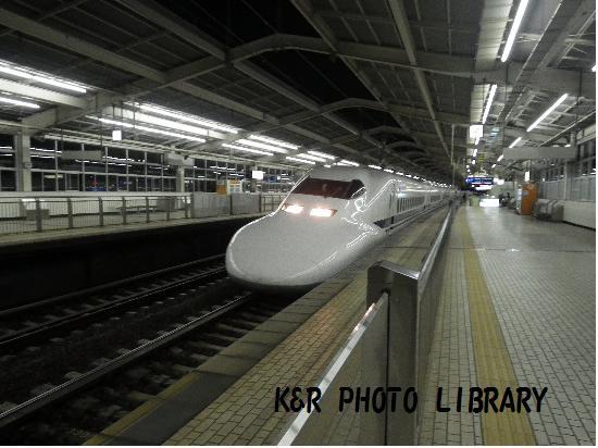 9月21日熱海駅新幹線