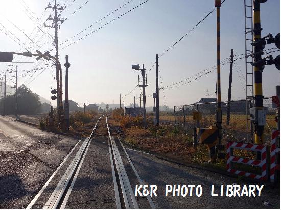 11月23日久留里線の線路