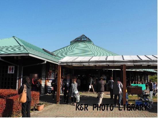 11月23日道の駅ふれあいパークきみつ駅舎