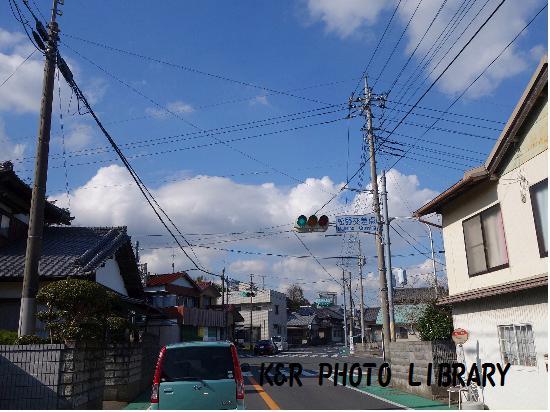 11月23日松野交差点