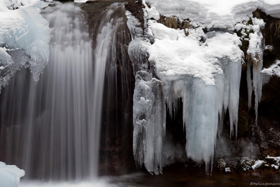氷瀑2015横谷渓谷