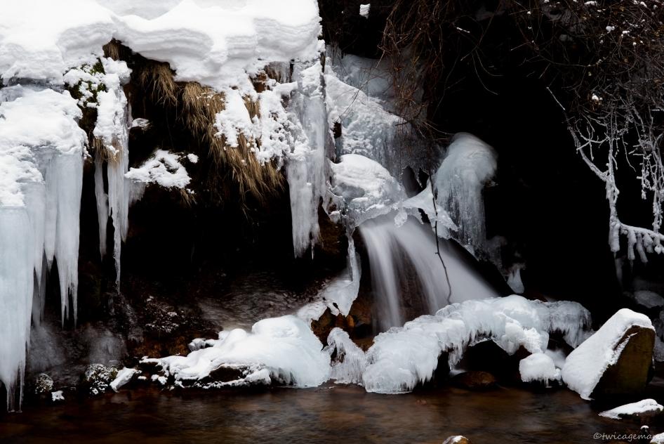 氷瀑2015-2横谷渓谷