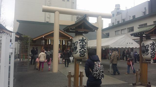 東京水天宮の鳥居