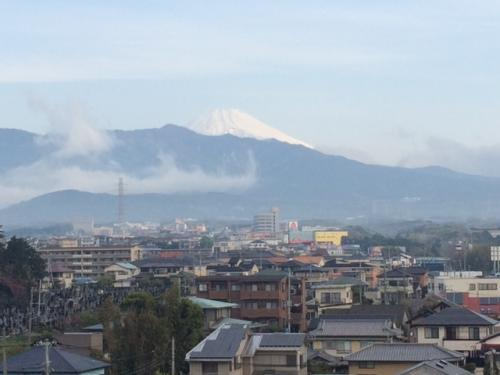 家から富士2
