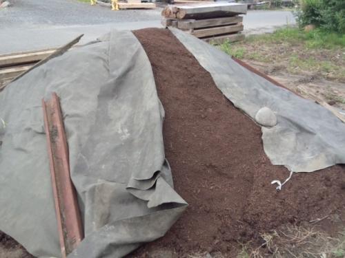 2015牛糞堆肥