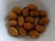 漬けて5日目の酢大豆