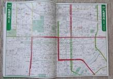 札幌中心部の地図