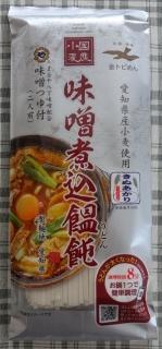 金トビ国産味噌煮込饂飩 味噌つゆ付(2人前) 248円