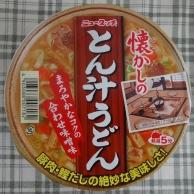 懐かしのとん汁うどん 79円