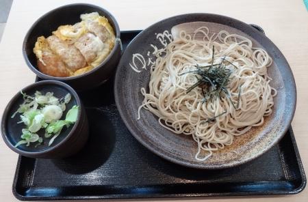 ミニかつ丼セット 650 円