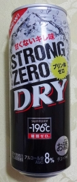 2/5 -196℃ ストロングゼロ〈DRY〉 500ml缶