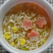 スープを混ぜて、完成!