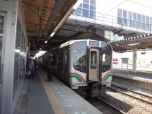 11:05 名取駅にて ~ この列車に乗ります。