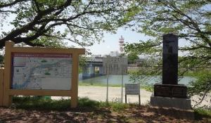 12:21 JR大河原駅近くの尾形橋まできました。ここで駅に向かいます。