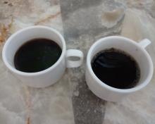 7:21 食後のコーヒー