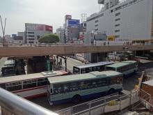 15:16 仙台駅からるーぷるの乗り場へ