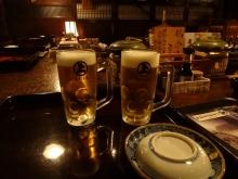 18:28 生ビール 中 490円×2