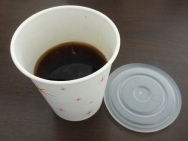 6:43 コーヒーは部屋で頂きます。