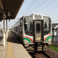 15:09 この列車できました (東照宮駅にて)