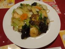 20:17 海老と野菜の焼きそば 890円