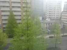 6:01 ホテルの部屋からの眺め
