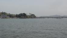 9:45 福浦島に続く福浦橋も見えます