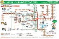 仙台まるごとパス 利用路線図