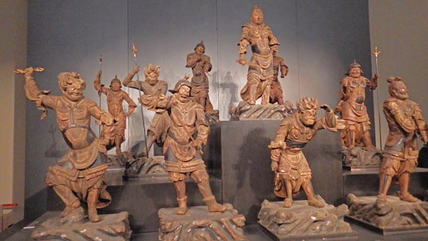 神奈川曹源寺の十二神将像(鎌倉時代