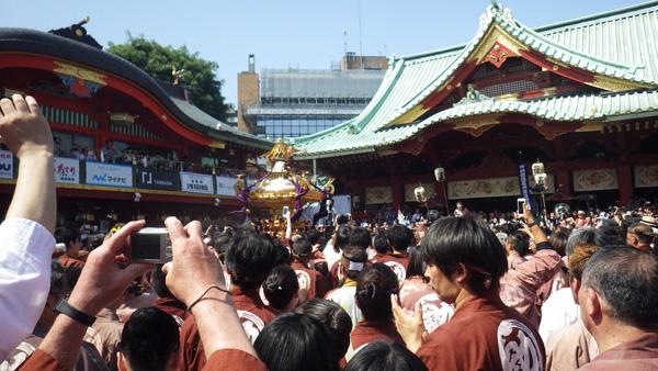 「神輿宮入」 2