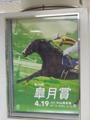イスラボニータの皐月賞ポスター