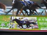 イスラボニータ:皐月賞の記念入場券