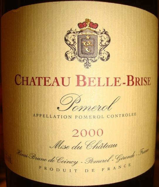 Chateau Belle-Brise 2000