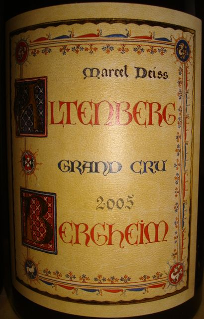 Altenberg Bergheim Grand Cru Marcel Deiss 2005