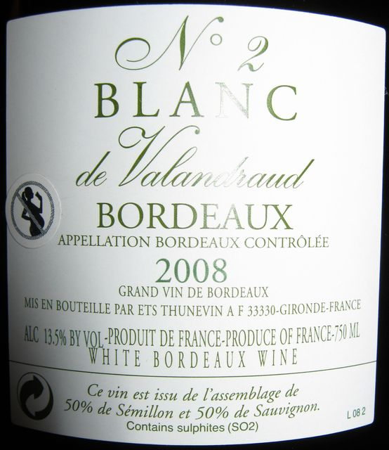 Blanc de Valandraud No2 2008 Part2