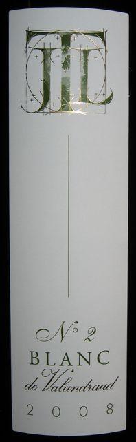 Blanc de Valandraud No2 2008 Part1