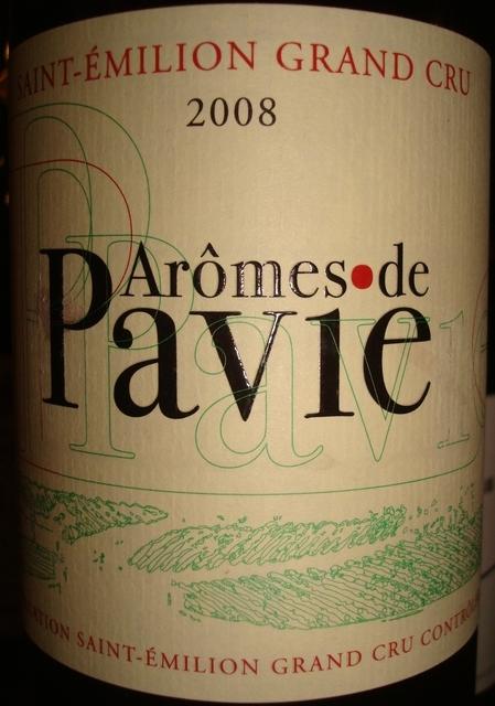 Aromes de Pavie 2008