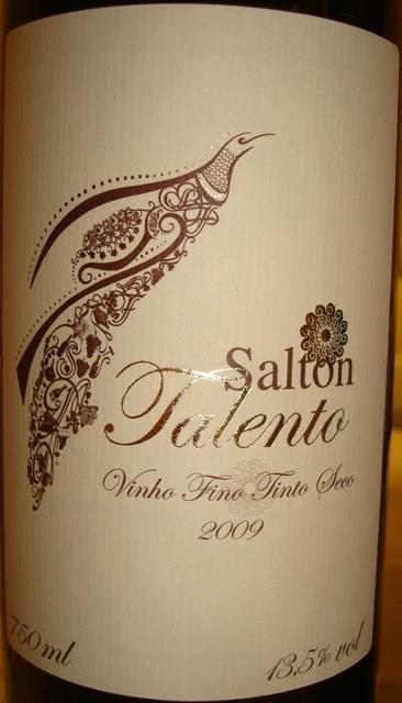 Salton Talento Vinho Fino Tinto Seco 2009